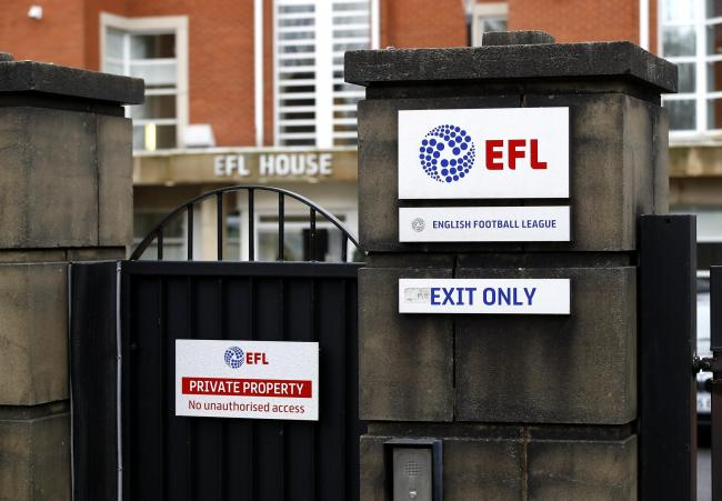 EFL clubs will face a substantial bill for coronavirus testing