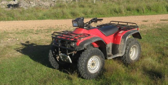 The quad bikes have been stolen from villages in the Ribble Valley