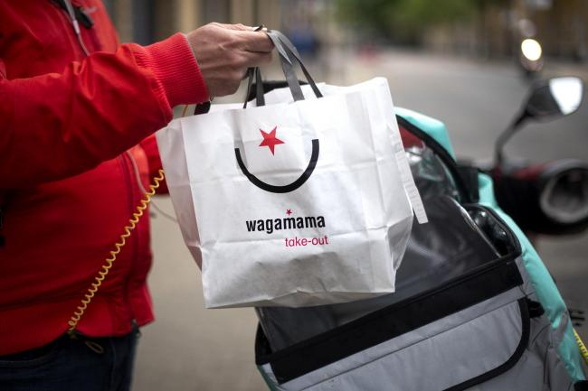 Wagamama reopens for takeaway and delivery. Picture: PA Wire