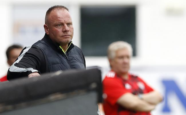 Former Rovers defender Andy Morrison in now in charge at Connah's Quay