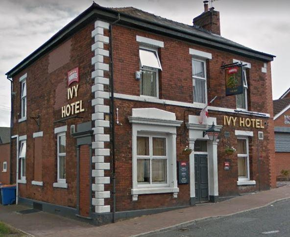 Ivy Hotel on Infirmary Street, Blackburn