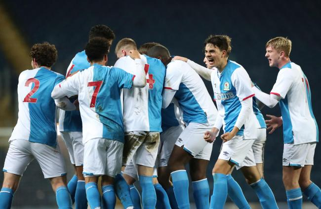 Rovers made it to the last four of the FA Youth Cup - with Luke Brennan (far right) linked with a move to Leeds United