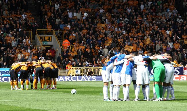 Reliving the drama of Rovers' survival Sunday at Wolves