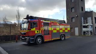 Fire: Two engines were sent from Blackburn fire statio to an incident on Skye Crescent