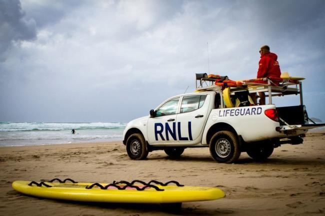 The RNLI led the search for the man
