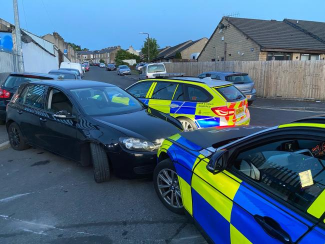 Golf seized after officers stopped suspected drink driver