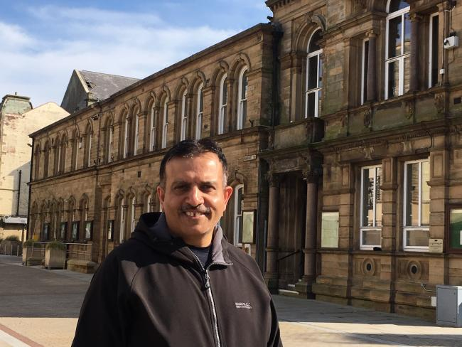 Pendle Council leader Mohammed Iqbal