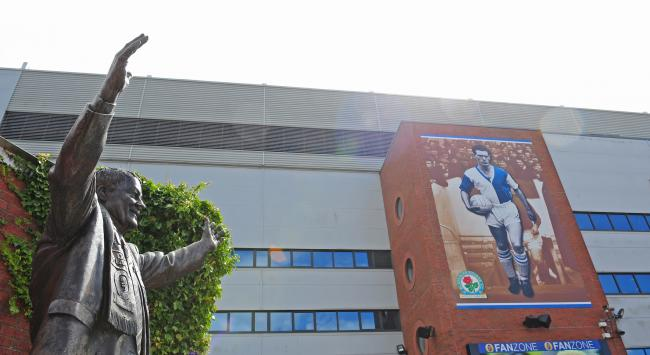 The Jack Walker statue was unveiled at Ewood Park in 2001