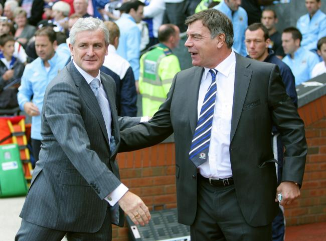 Mark Hughes was replaced in the Ewood Park dugout by Sam Allardyce