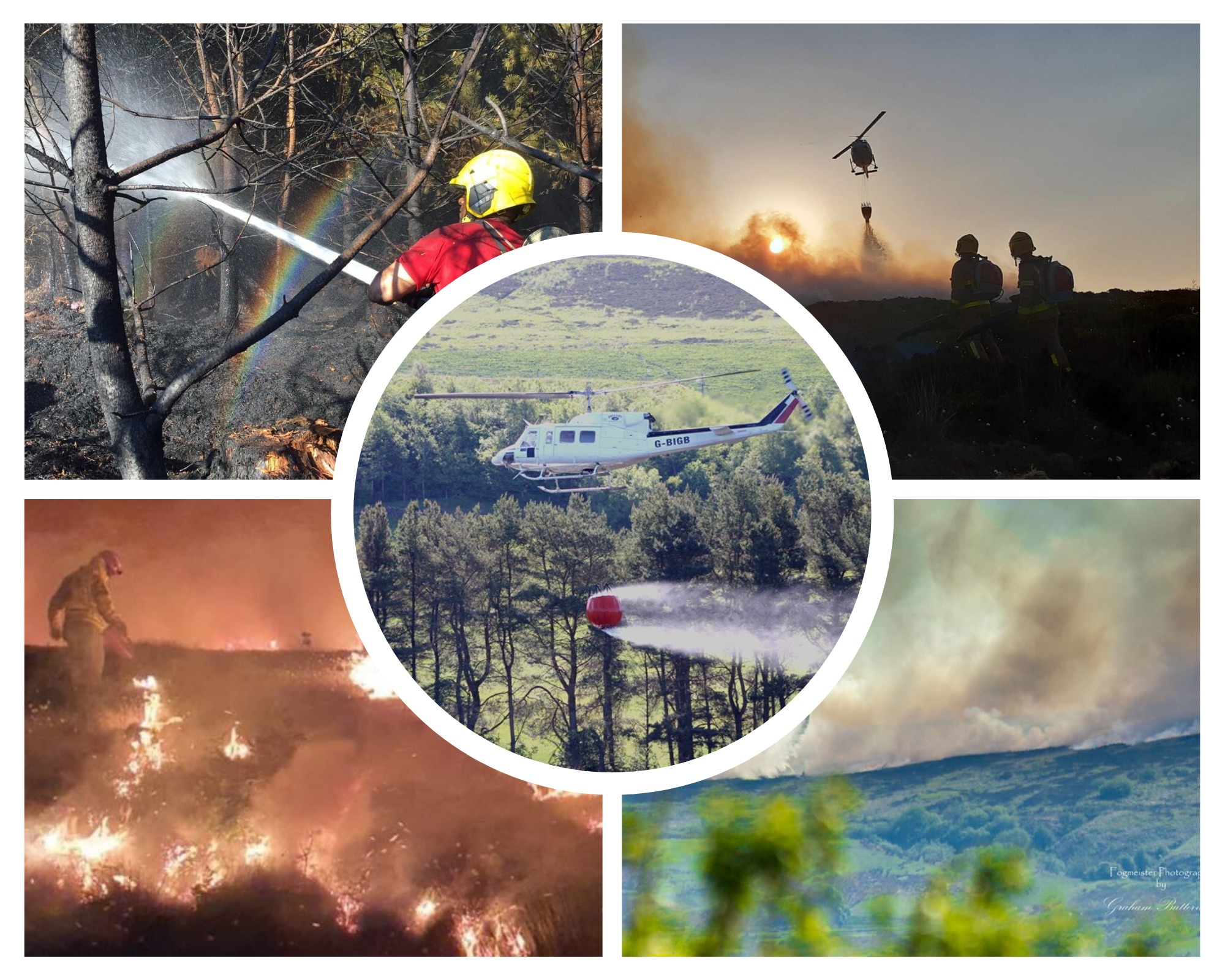 Fire updates: Incident off Grane Road latest in string of devastating blazes across county