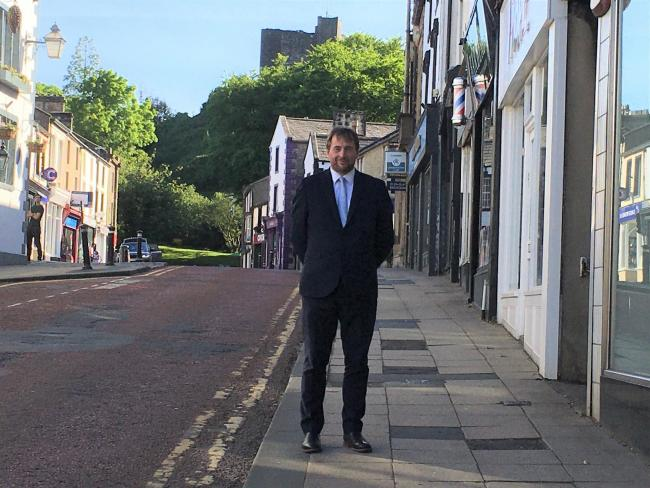 Ribble Valley Borough Council Leader Stephen Atkinson in Clitheroe