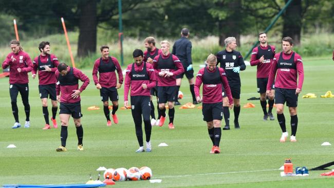 Burnley's players are back in full training at Barnfield. Pictures: Andy Ford/Burnley FC
