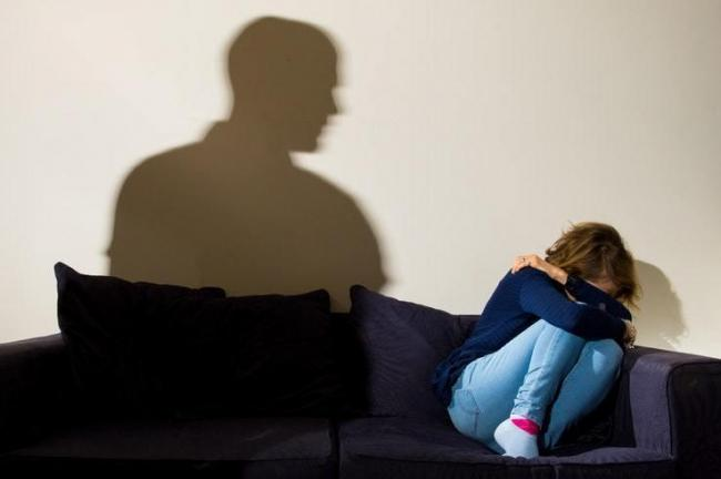 A female victim of domestic abuse (Picture: PA)