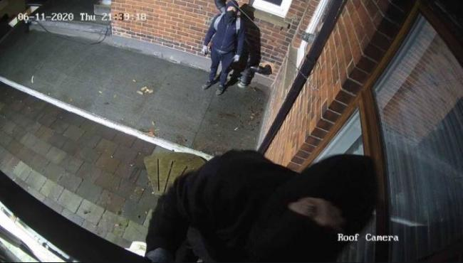 CCTV has been released of burglars at a shop in Whalley