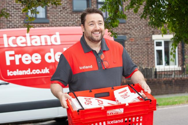 Jason Manford is working for Iceland and donating wages to CAFT. Image: Iceland/PA Wire