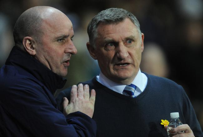 Tony Mowbray will lock horns with Paul Cook again this weekend