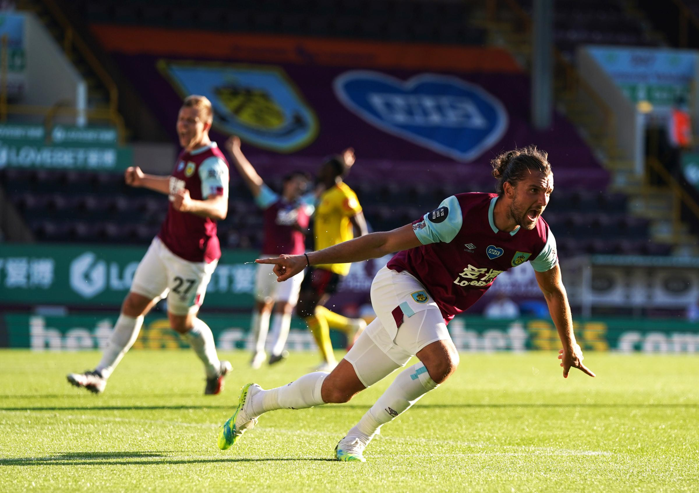 Burnley 1-0 Watford: Jay Rodriguez gives Clarets something to smile about