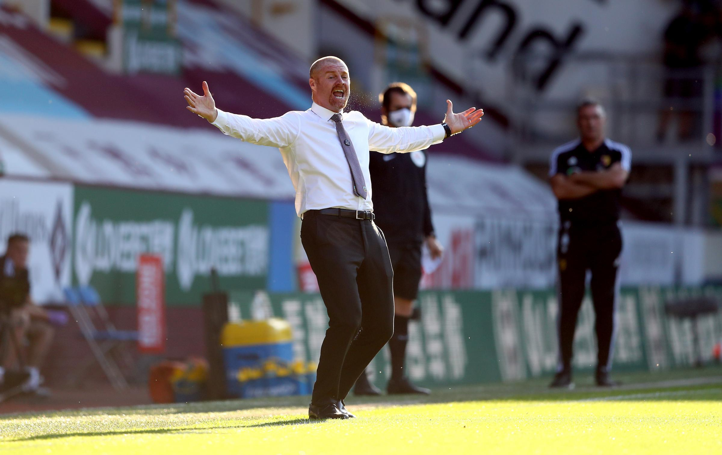 Sean Dyche responds to questions about his future after Burnley's win over Watford