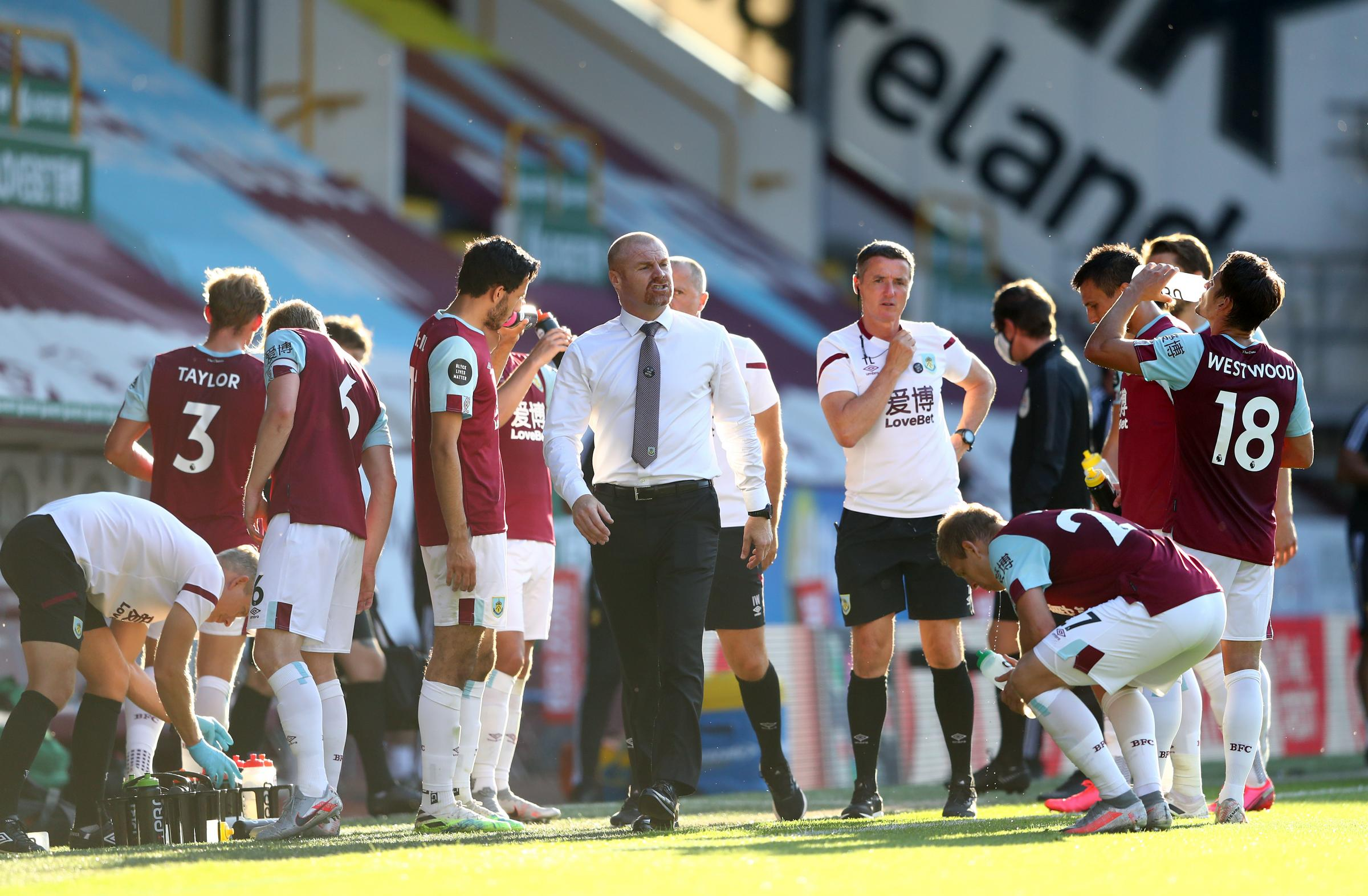 Burnley exit talk not a distraction, insists Sean Dyche