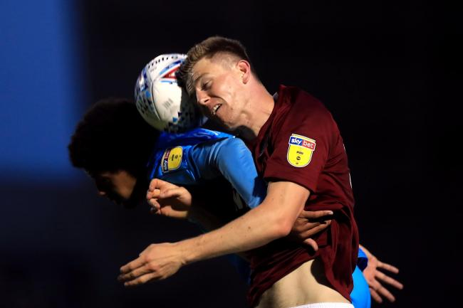 Scott Wharton spent the 2019/20 season on loan at Northampton Town