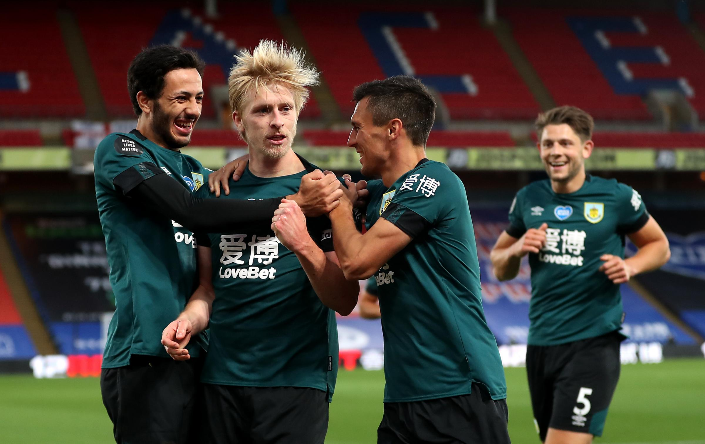 Crystal Palace 0-1 Burnley: Ben Mee marks milestone appearance with winner