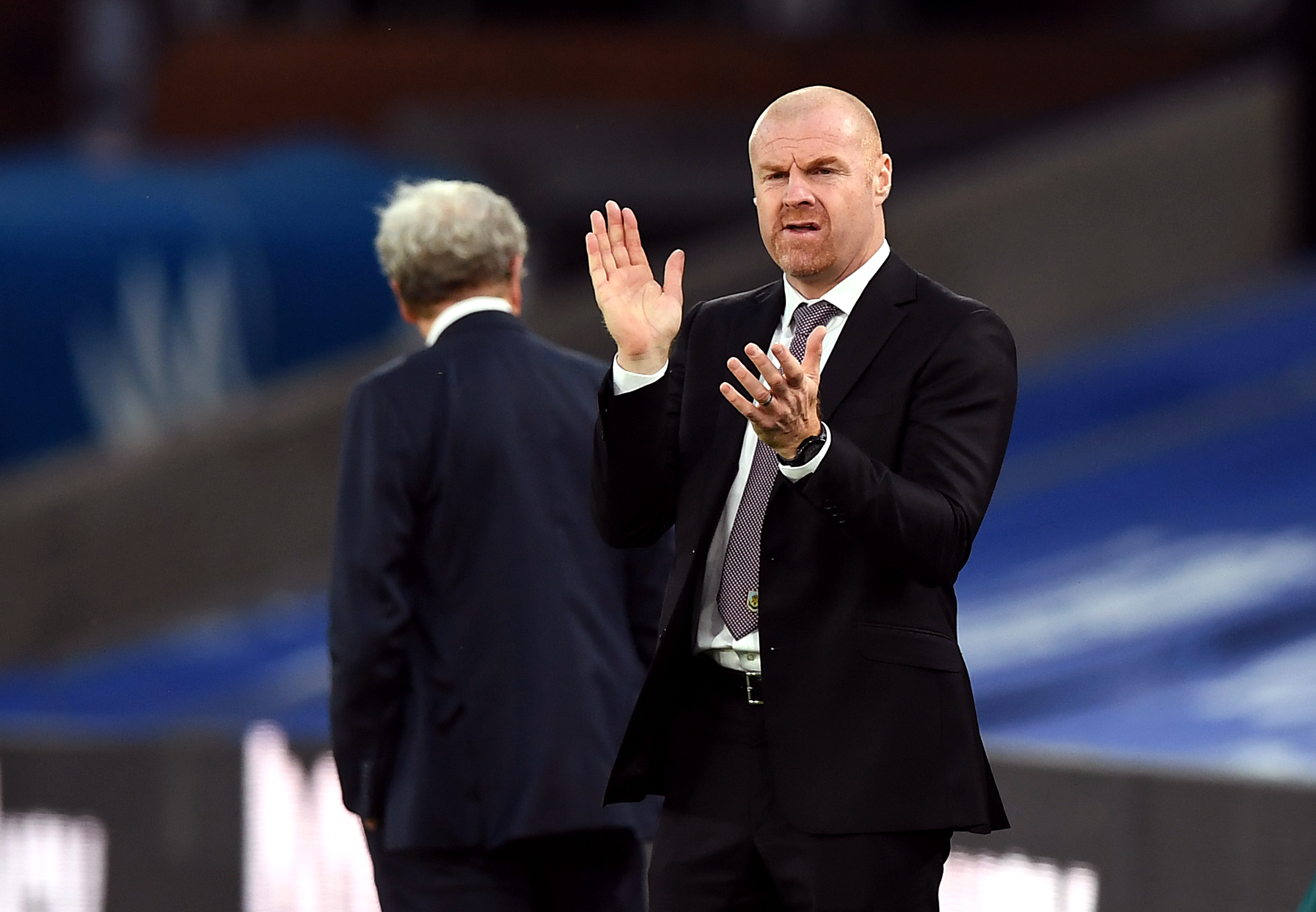 Sean Dyche hails one of best results as Burnley boss after Crystal Palace win