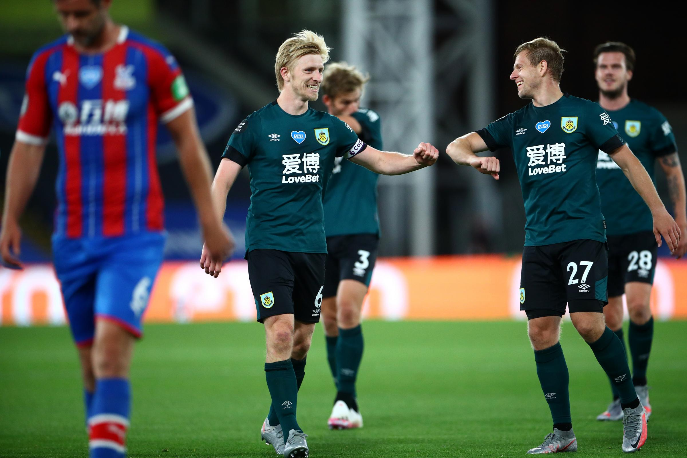 Burnley captain Ben Mee pleased to be talking about football again
