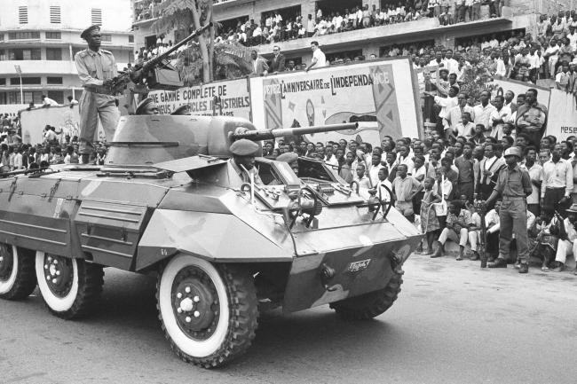 1961 file picture of DR Congo celebrating the first anniversary of independence from Belgium (Horst Faas/AP)