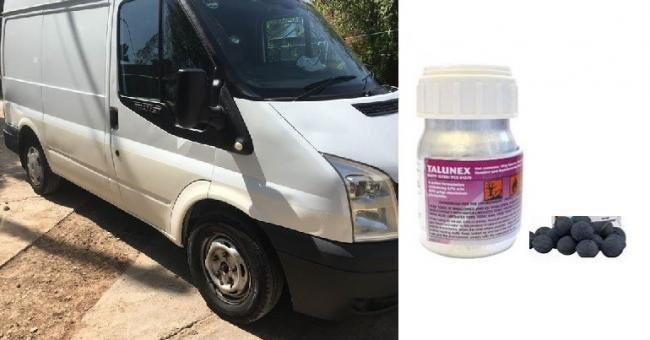 Van containing Talunex found in Manchester