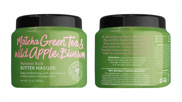 Lancashire Telegraph: Define your hair's texture with the Not Your Mother's Matcha Green Tea & Wild Apple Blossom Nutrient Rich Butter Masque. Credit: Not Your Mother's