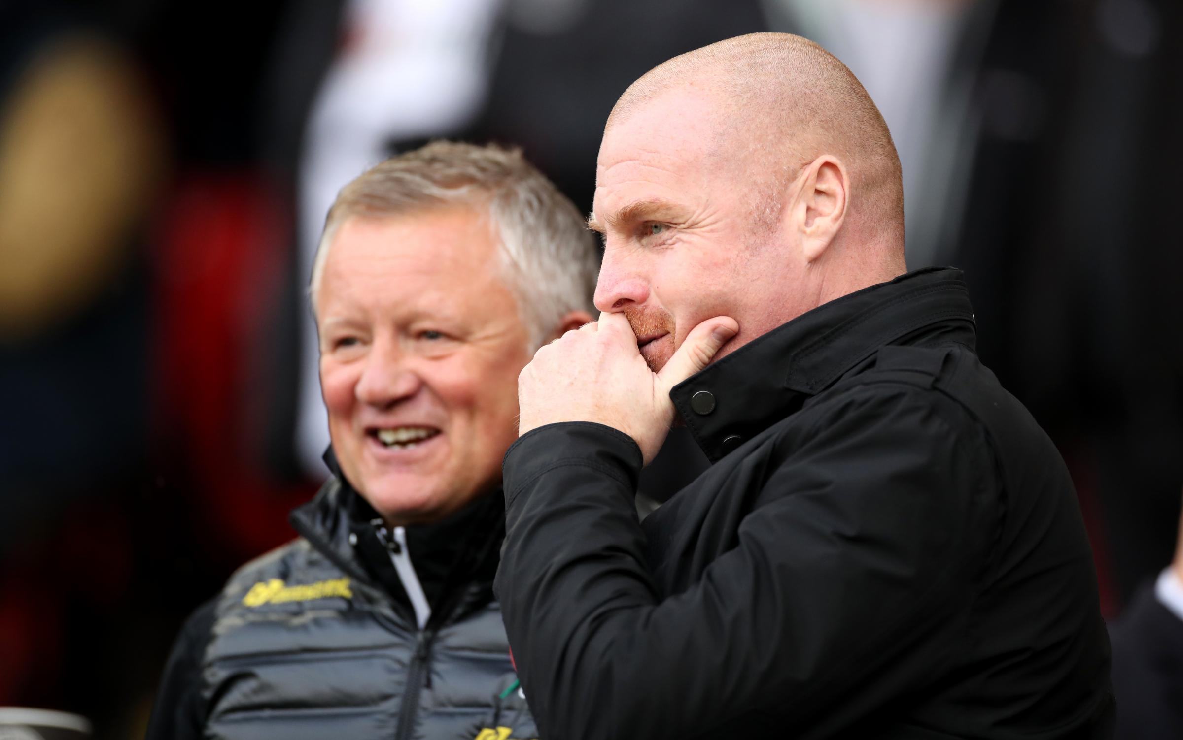 Chris Wilder believes Sean Dyche deserves better amid Burnley speculation