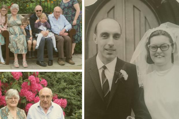 The couple will celebrate their golden wedding anniversary from their Whalley home