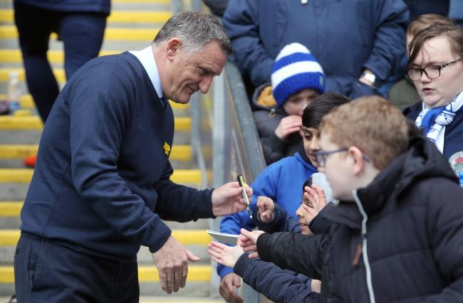 Tony Mowbray says behind closed doors matches have shown more than ever the importance of fans