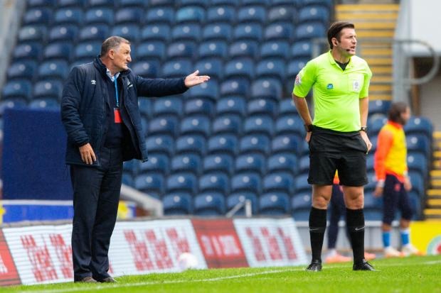 Tony Mowbray's side have fallen out of top six contention with five games remaining