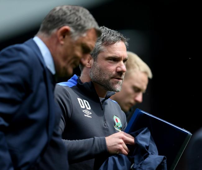David Dunn worked under Tony Mowbray after his appointment in 2017