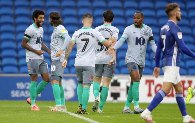 Rovers got back to winning ways at Cardiff City on Tuesday night