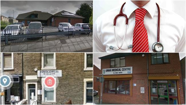 Best and worst GP surgeries in Blackburn - St Georges, Spring-Fenico, Olive Medical Centre