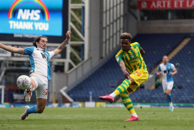 Lewis Travis makes his presence known during Rovers' draw with West Brom