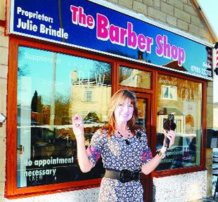 NEW LOCATION: Julie Brindle at The Barber Shop