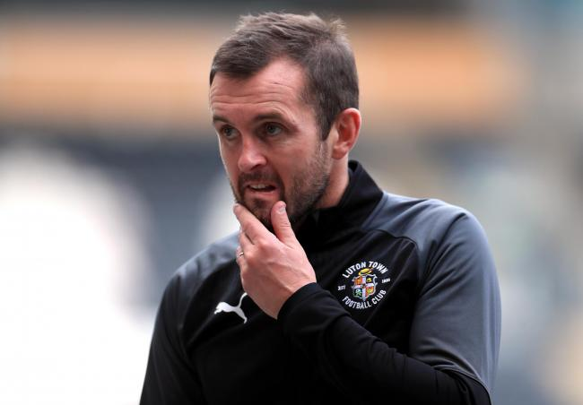 Nathan Jones is in to his second spell in charge of Luton Town