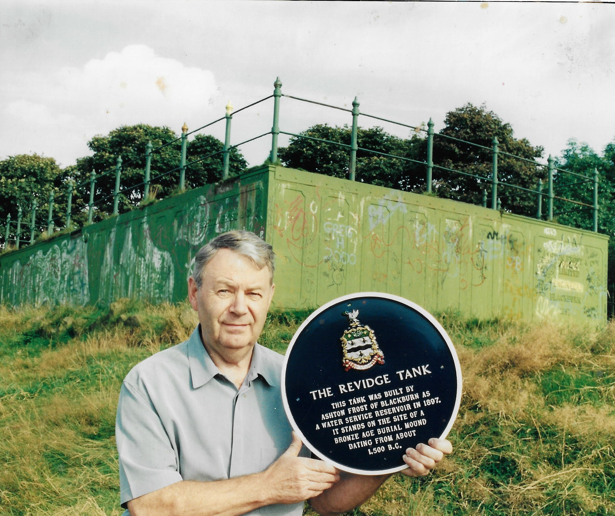 Remembering the Revidge tank - for water not warfare