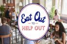The 'Eat out to help out' social media post'