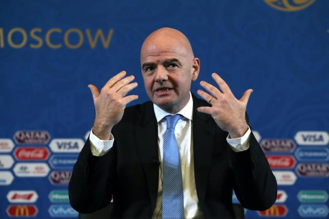 It was announced on Thursday that criminal proceedings had been opened against FIFA president Gianni Infantino. (Nick Potts/PA).