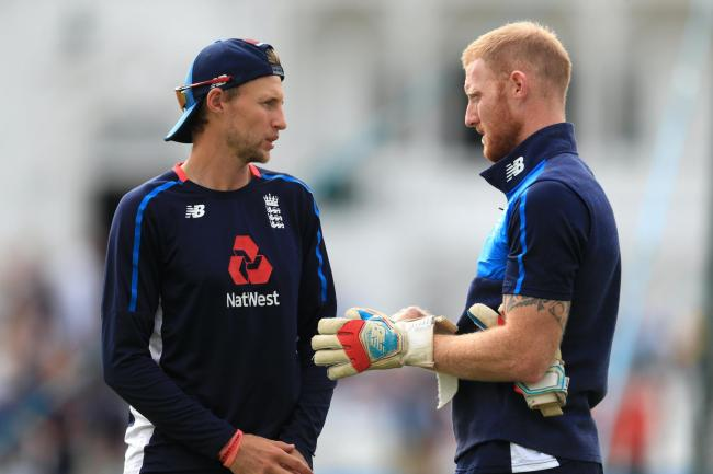 Joe Root (left) has a late call to make on Ben Stokes (right)