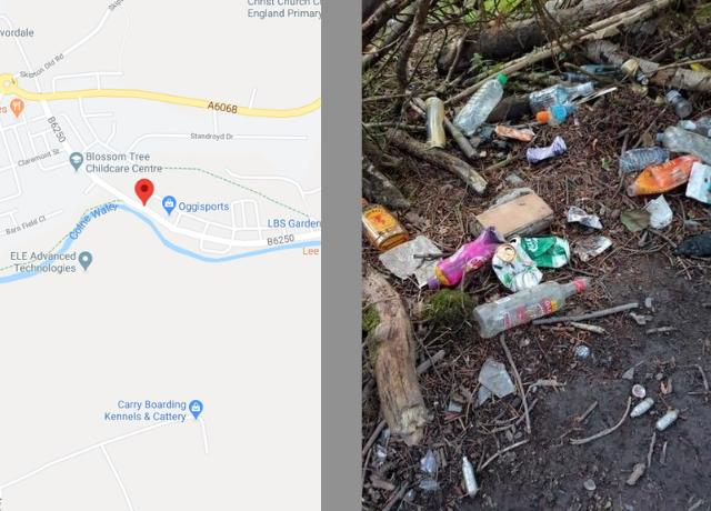 48-hour dispersal order to stop teenagers partying in wooded area in Colne