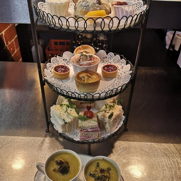 Lancashire Telegraph: Who would you share this afternoon tea with? (Photo: Suzanne Halliwell)