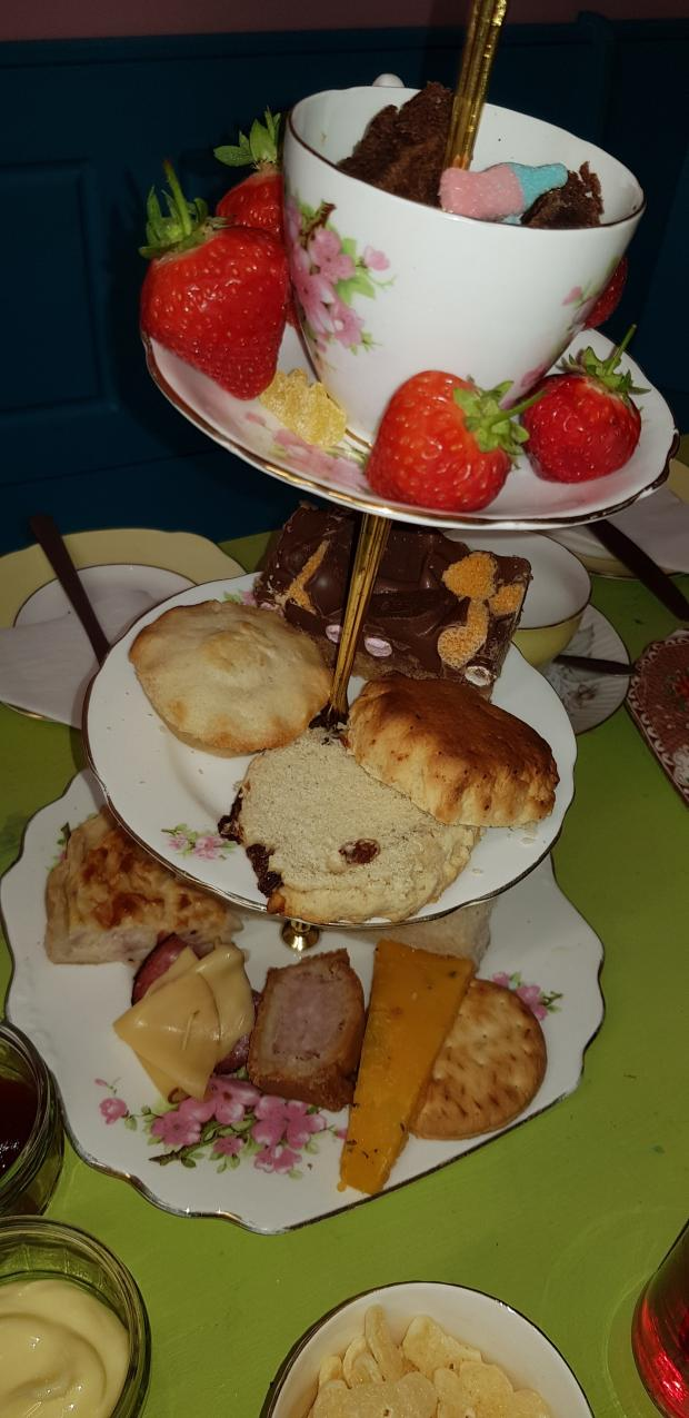 Lancashire Telegraph: Who would you share this with? (Photo: Krafty Cow Tea Room)