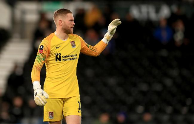 David Cornell is a free agent after leaving Northampton Town in the summer