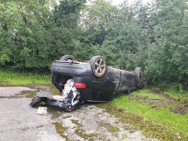 'The driver clearly needs many more lessons' after lucky escape on village road