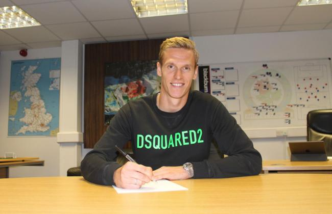Thomas Kaminski was signed by Rovers last summer from KAA Gent
